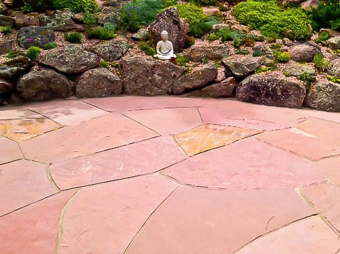 Bryant Red Sandstone Patio (large)