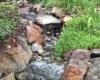 Creek flow thru gardens