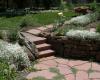 Rear patio with rock garden-Swearington