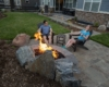 fire pit porcelain tiles outdoor lighting 800 pix wide