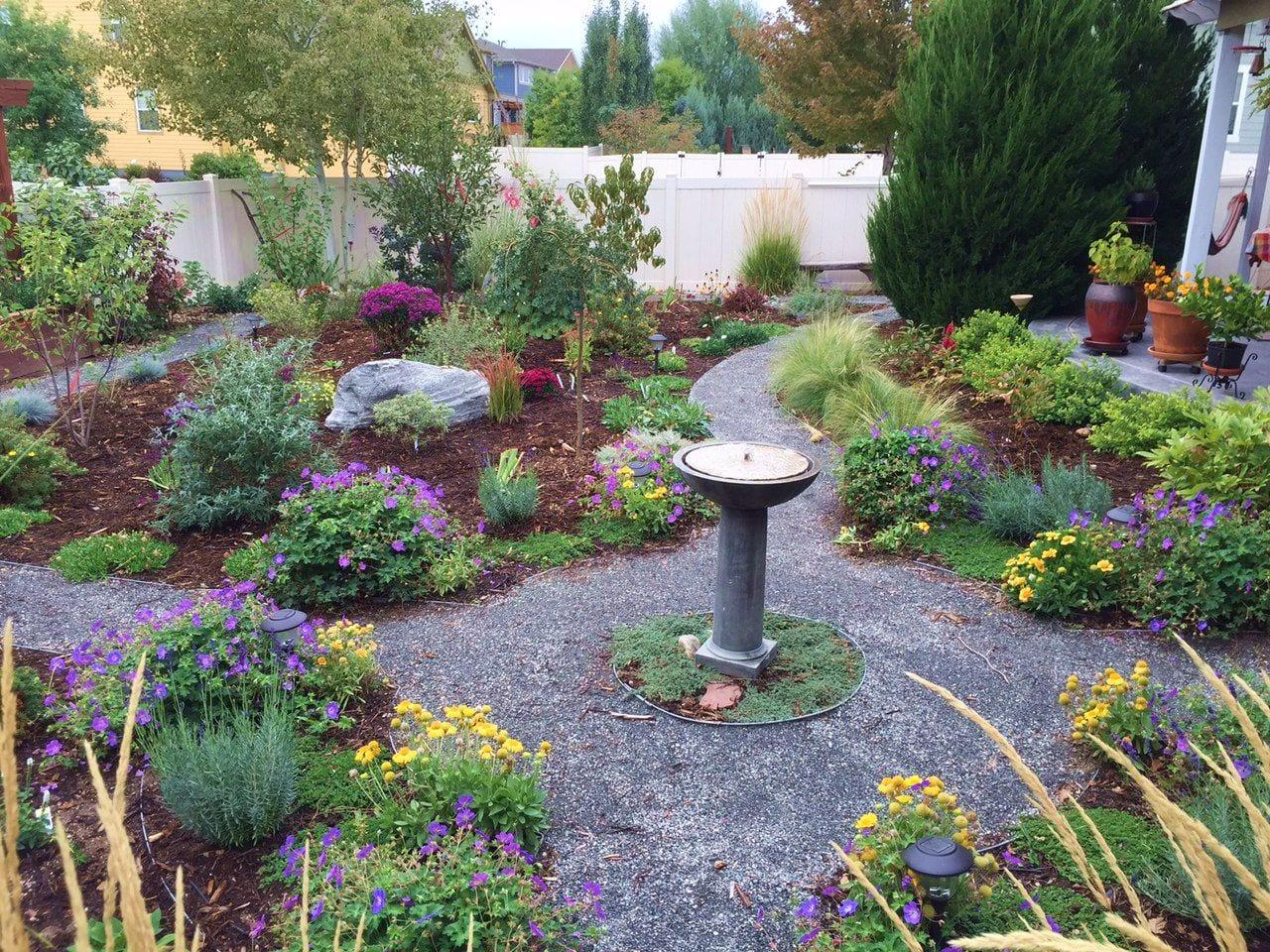 pollinator friendly pathway