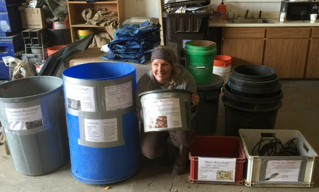 Emily the Recycling Rockstar